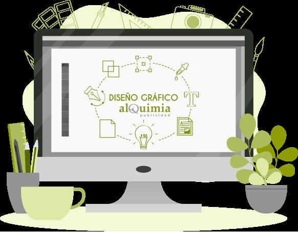 Diseño Gráfico en Valladolid - alQuimia Publicidad