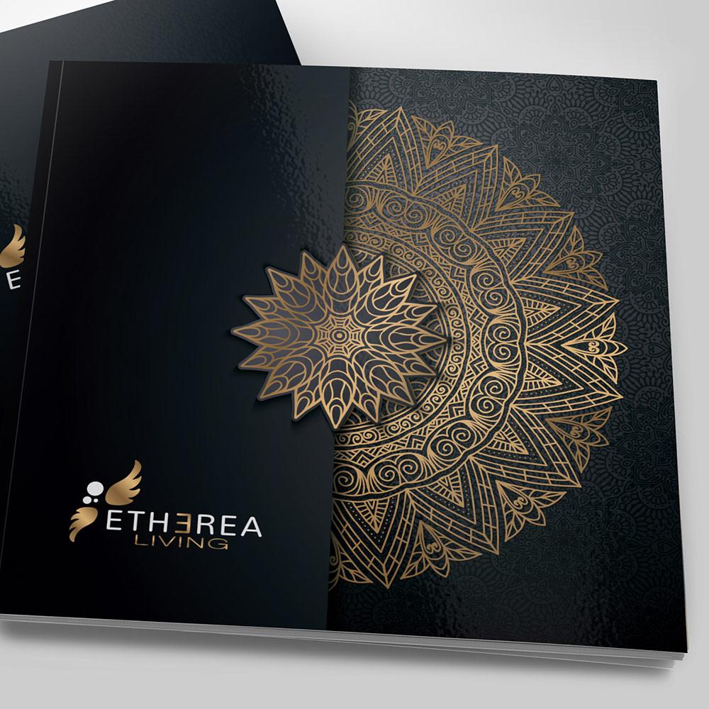 Etherea Living - Diseño Gráfico - alQuimia Publicidad - Valladolid