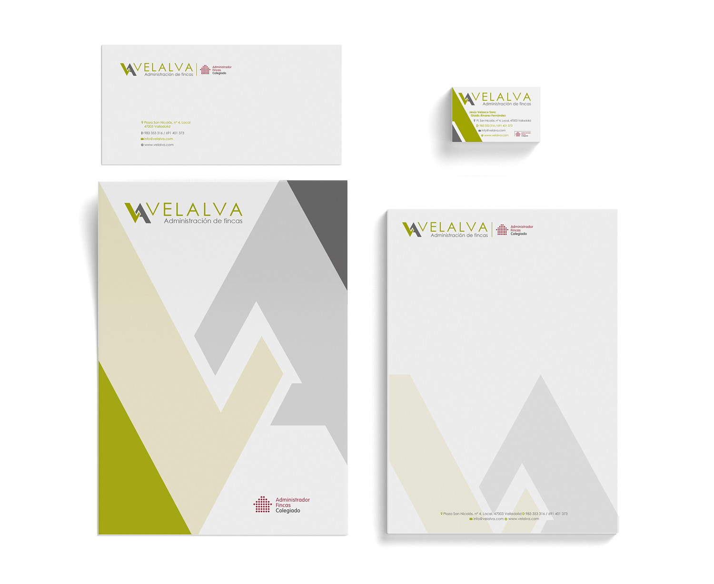 Velalva - Diseño Gráfico - alQuimia Publicidad - Valladolid