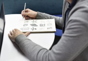 Diseñar un logotipo: diferentes fases del proceso